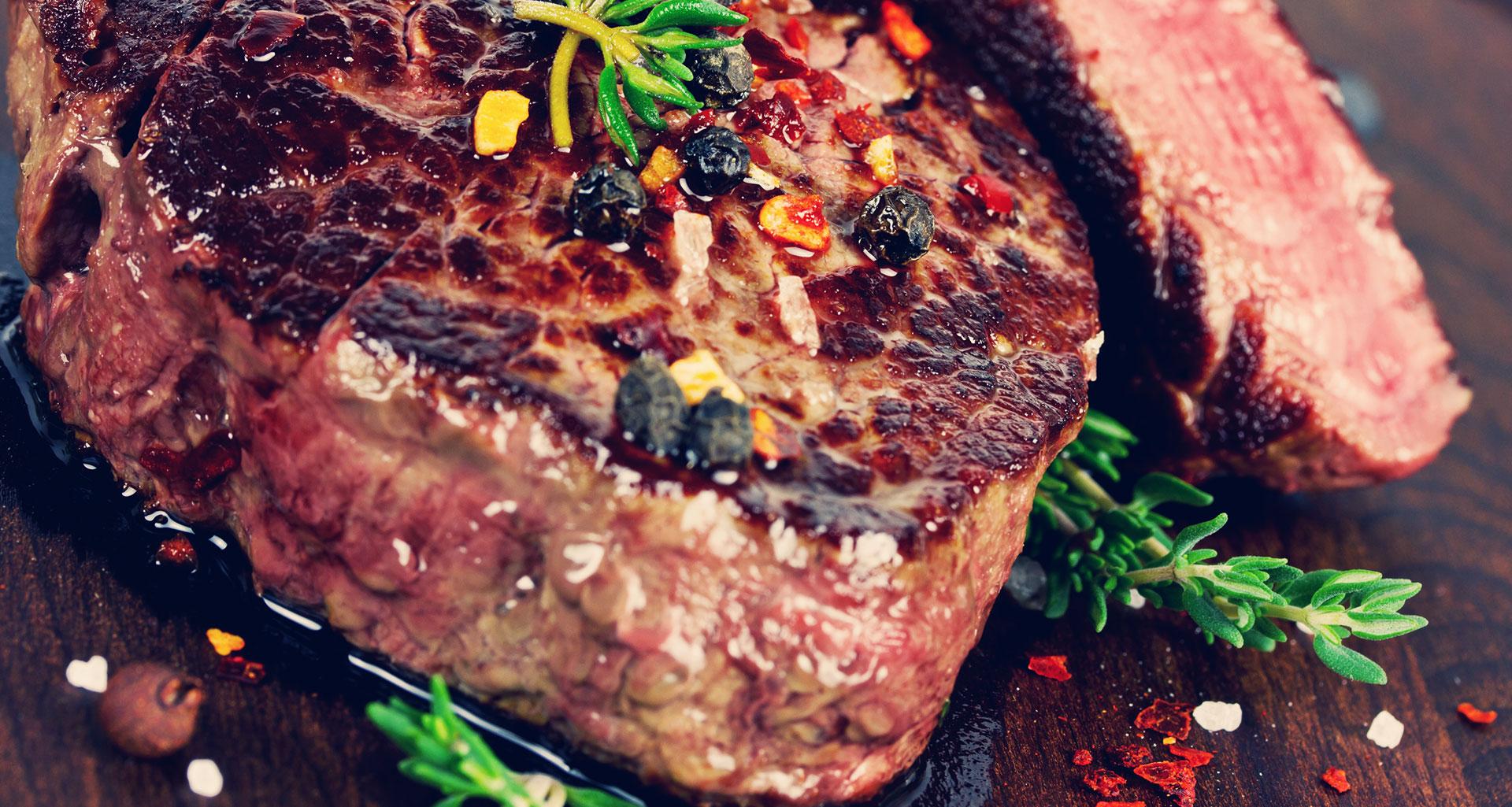 Schmecken Sie den Ursprung des Fleisches